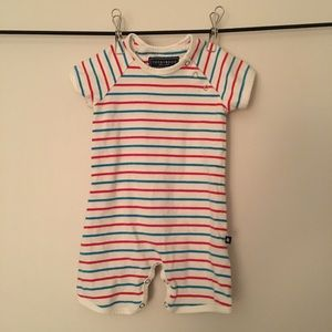 Toobydoo Romper 3-6m short sleeves and shorts